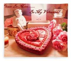 Be My Valentine Fleece Blanket