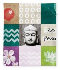 Be Present Fleece Blanket