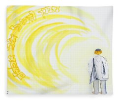 Be Still And Know  Fleece Blanket