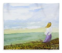 Be Still And Know That I Am God Fleece Blanket