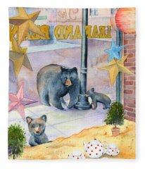 Bean Bears Fleece Blanket