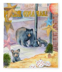 Bean Bears Fleece Blanket