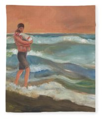 Beach Baby Fleece Blanket