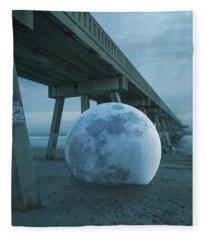 Beach Ball Fleece Blanket
