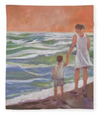 Beach Boy Fleece Blanket