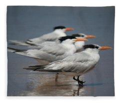 Beach Buds Fleece Blanket