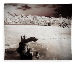Beach Creature Fleece Blanket