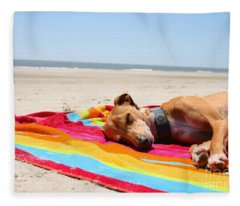 Beach Dreams Are Made Of These Fleece Blanket