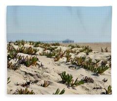 Beach Dune Fleece Blanket
