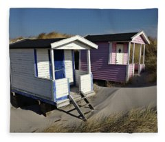 Beach Houses At Skanor Fleece Blanket