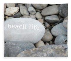 Beach Lifecollection Fleece Blanket