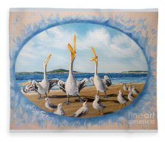 Privileged. Pelican  Procedure Prevailed   Fleece Blanket