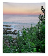 Beach Retreat Fleece Blanket