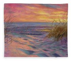 Beach Time Serenade Fleece Blanket