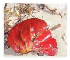 Beach Treasures 1 Fleece Blanket