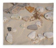 Beach Treasures 2 Fleece Blanket