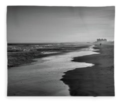 Beach Walk Fleece Blanket