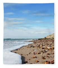Beachcombing Fleece Blanket