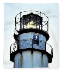 Beacon At Fenwick Island Lighthouse Fleece Blanket