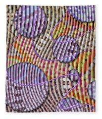 Bead Spumps Fleece Blanket