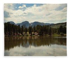Bear Lake Fleece Blanket