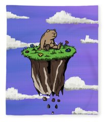 Bear Rock Fleece Blanket
