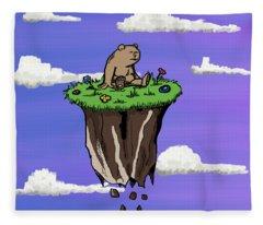 Bear Rock Fleece Blanket