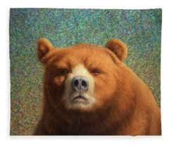 Bearish Fleece Blanket