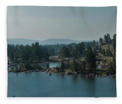 Beartooth Pond At 10,000 Feet Fleece Blanket