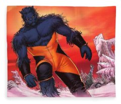 Beast Fleece Blanket