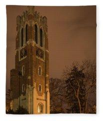 Beaumont Tower Fleece Blanket