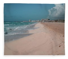 Sky Digital Art Fleece Blankets