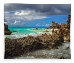 Beautiful Bermuda Fleece Blanket