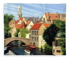 Beautiful Bruges Fleece Blanket