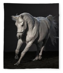 Beautiful Dancer Fleece Blanket