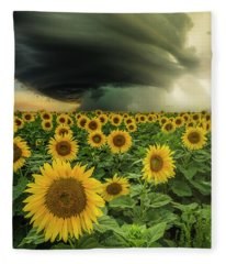 Beautiful Destruction  Fleece Blanket