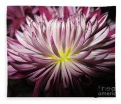 Beautiful Flower Fleece Blanket