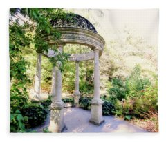 Beautiful Gazebo Fleece Blanket