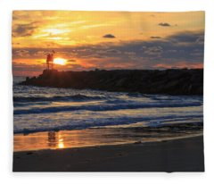 Beautiful Morning Fleece Blanket