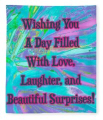 Beautiful Surprises Fleece Blanket