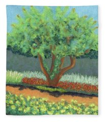 Beautiful Tree Fleece Blanket