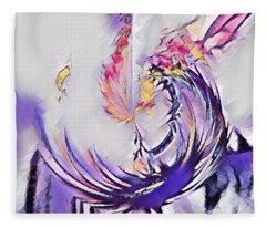 Beauty For Ashes II Fleece Blanket
