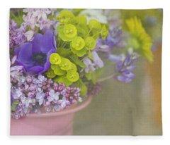 Beauty In A Bucket Fleece Blanket