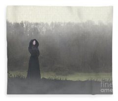 Beauty In The Fog Fleece Blanket