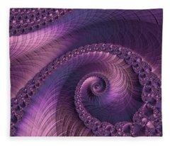 Beauty Of Sorrow Fleece Blanket