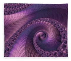 Beauty Of Sorrow Fleece Blanket