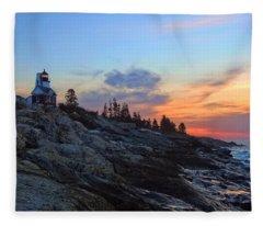 Beauty On The Rocks Fleece Blanket