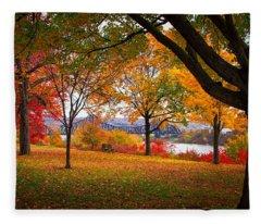 Beaver Park Fleece Blanket