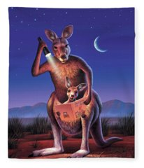 Bedtime For Joey Fleece Blanket