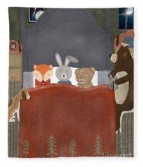 Bedtime Stories Fleece Blanket